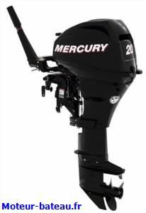 Mercury 20cv demarrage manuel