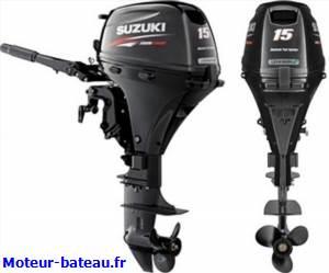 Suzuki df15a demarrage manuel 2l huile offerte