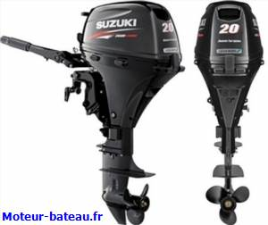 Suzuki df20a demarrage manuel 2l huile offerte